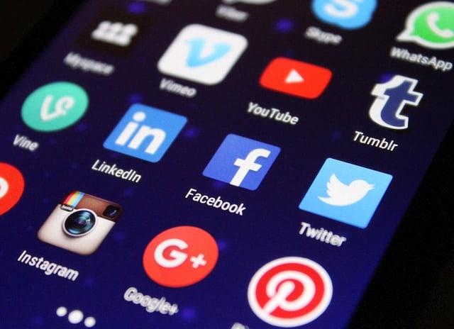 socialemedia-iconen