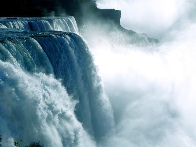 waterval - bloggen betekent een overvloed aan content