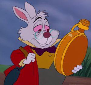Call to action - Je lezer is gehaast als Wit Konijn uit Alice in Wonderland