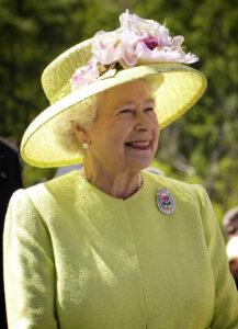 Britse Queen Elisabeth II - regel van 3