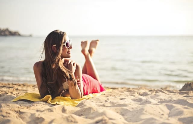 strand vakantiekaartjes Het Schrijfpaleis